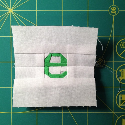 "e - the e is about 1"" square, pattern by Kristy at www.quietplay.blogspot.com"