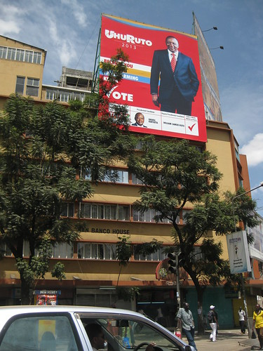 UhuRuto 2013 sign downtown