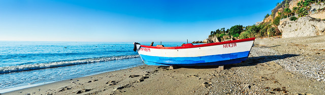 Nerja fishing boat