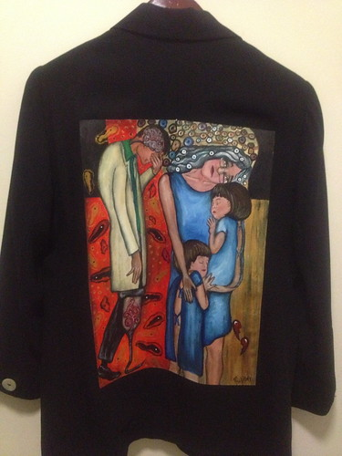 """Twice Broken Heart"" a jacket for Shelley Cohen Konrad"