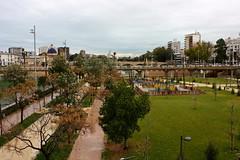 Turia riverbed park / Jardín del Turia, Valencia