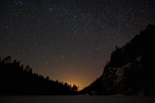 park winter sky snow cold night suomi finland stars landscape skiing north national lumi talvi maisema kansallispuisto yö hiihto taivas repovesi tähti kylmä tähtitaivas