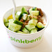 Pinkberry Greek yogurt: Sunflower Cucumber with olive oil