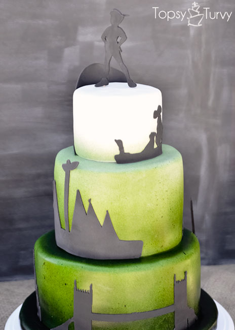 peter-pan-silhouette-shadow-ombre-fondant-birthday-cake-back