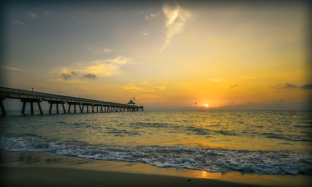 sunrise at deerfield beach