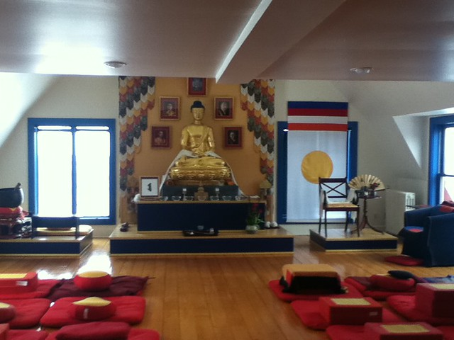 Shambhala Shrine Room at Gampo Abbey, Cape Breton