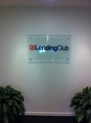 Visited Lending Club headquarters in San Francisco