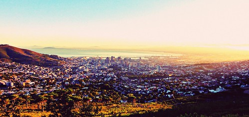 nature sunshine sunrise landscape southafrica cityscape capetown tablemountain hss happysliderssunday