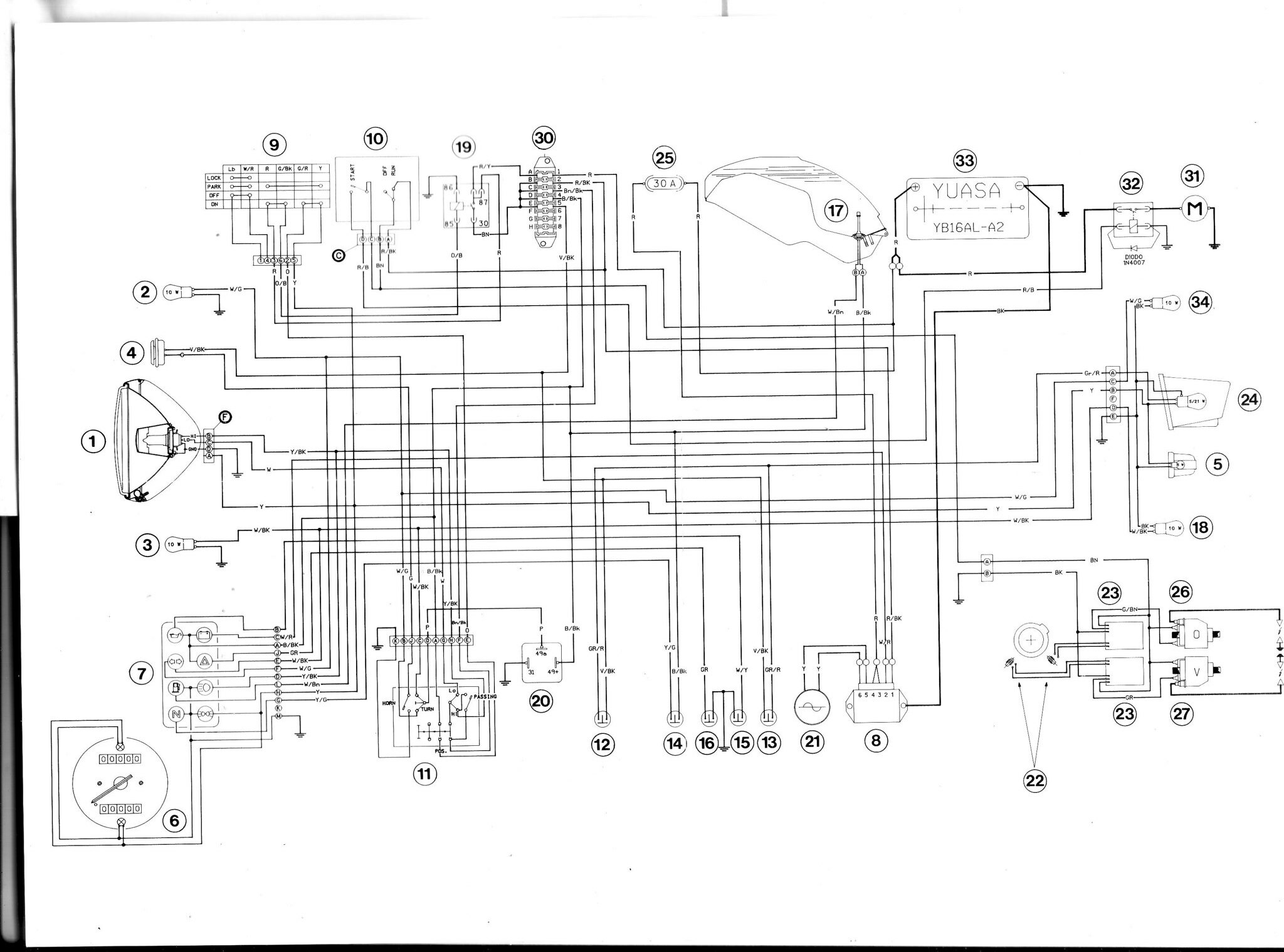 ducati 851 wiring diagram
