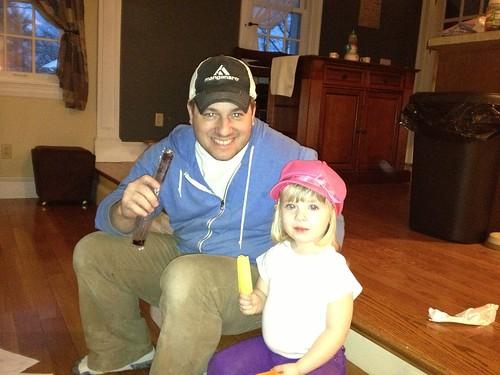 Daddy & Maddie