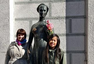 Julia, Altstadt München, Shakespeare, sculpture, statue