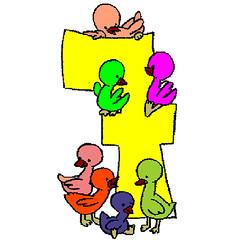 7 Sayısı Boyama 7 Sayısını Boyama Yapmak Isteyen çocuklar Flickr