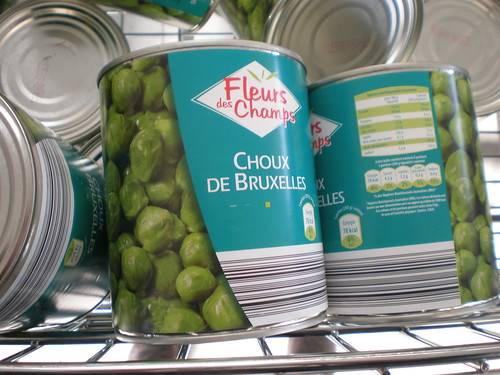 Tinned sprouts