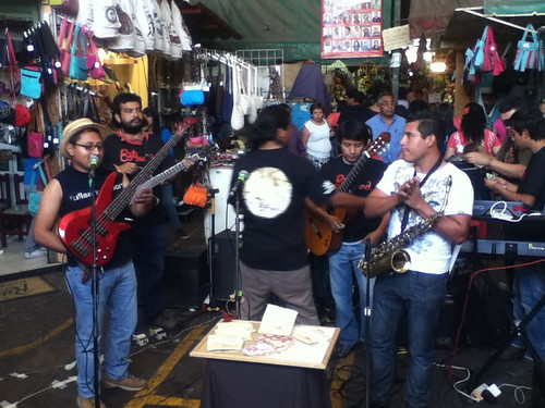 @bytband performing at the Benito Juarez Market @ Oaxaca 03.2013