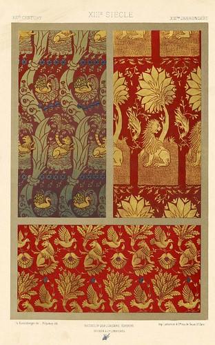 003-L'ornement des tissus recueil historique et pratique-Dupont-Auberville-1877- Biblioteca  Virtual del Patrimonio Bibliografico