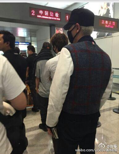 BIGBANG GDTOPDAE arrival Hangzhou 2015-08-25 140