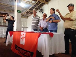 Paulinho visita candidatos de Fartura (SP)