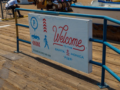 Welcome to the Santa Monica Pier