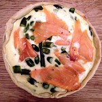 Asparagus & Smoked Salmon Quiche