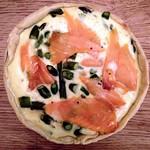 Asparagus & Smoked Salmon Quiche