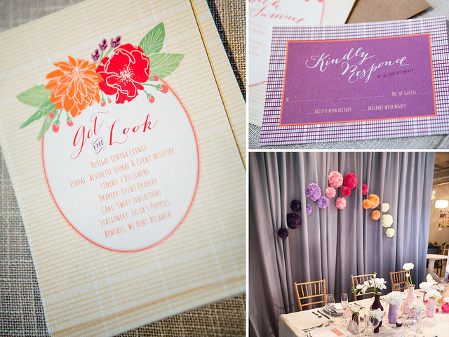 Spring Wedding Inspiration | Whimsical Floral Invitations
