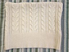 Iron Craft '13 #1 - Recycled Sweater Pillow