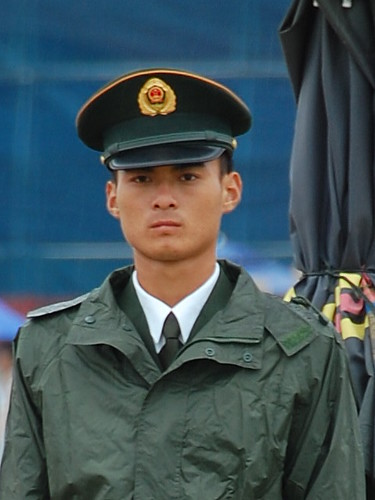 Chinese policeman