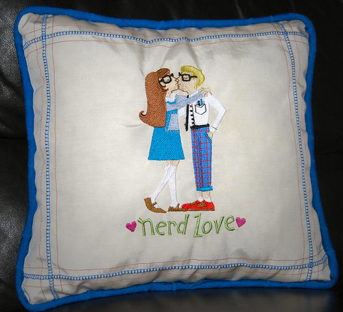 Nerd Love Pillow