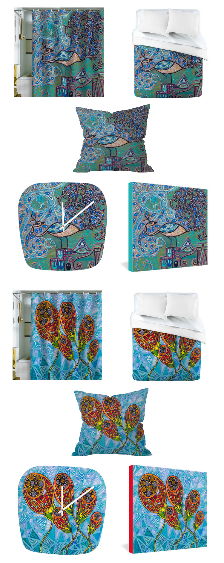 2 New Paintings Now Available On Home Decor Products At