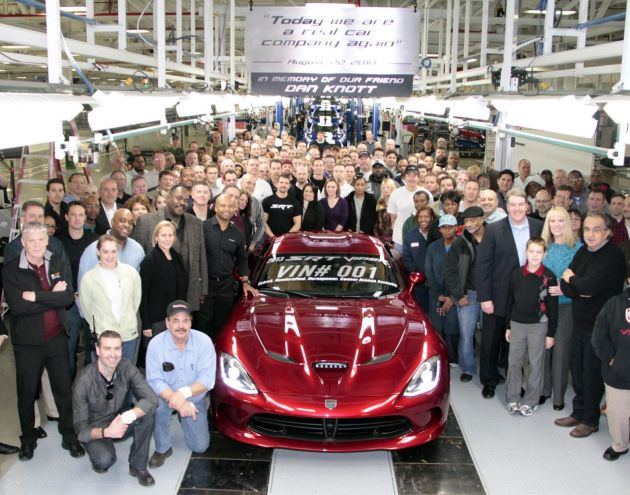 First SRT Viper delivered