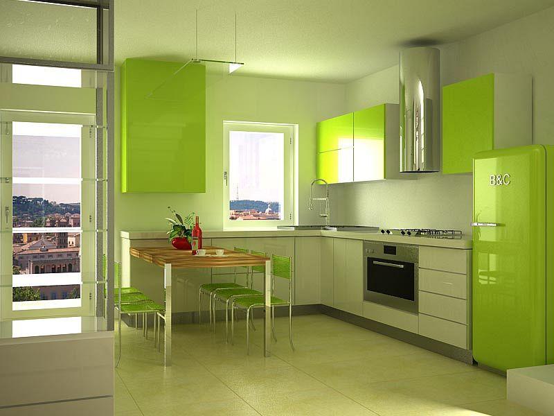 cucina-progetto-on-line   Render Fotorealistico - Cucina ver ...