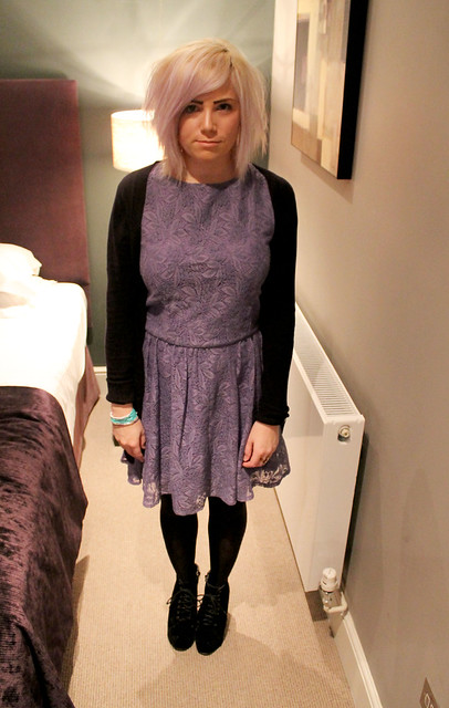 Outfit post Missguided Aldara dress