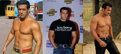 Salman Khan of 2012, in the movie Dabangg