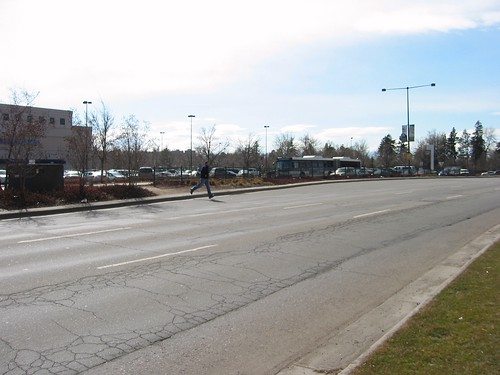 crossing a street in Denver (courtesy of Complete Streets Coalition)