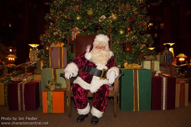 Disneyland Dec 2012 - Christmas in Disney's Grand Californian