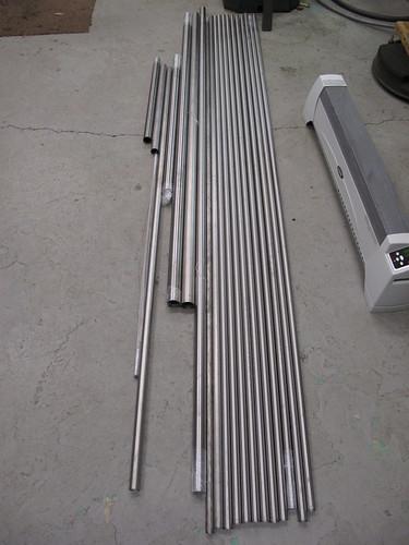 Titanium tubing