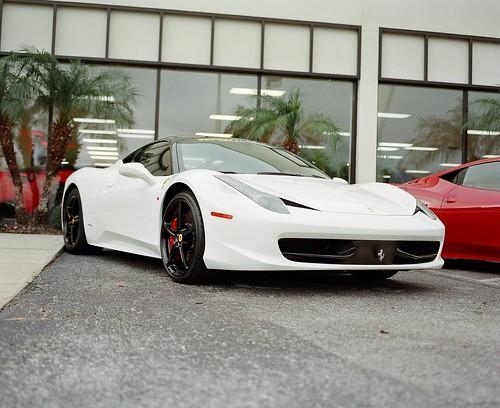 Ferrari 458 - Medium Format
