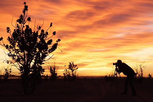 Sunrise Désert Maroc marocco