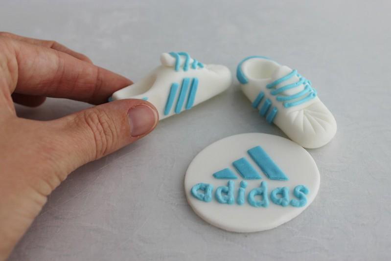 Fondant Adidas Shoes