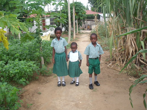 Precious, Makambe & Marvelous in their new uniforms
