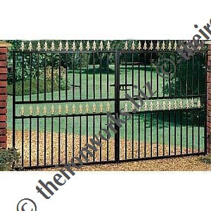 metal driveway gates