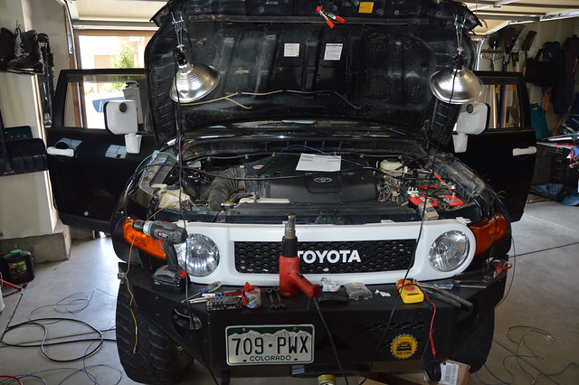 Dual Battery Install Toyota FJ Cruiser