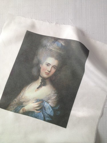 Printing on Silk