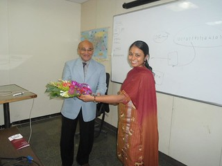 Zaveri in Chanakya IAS Academy, Pune, India