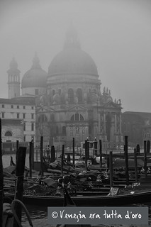 La Salute Venezia in the fog