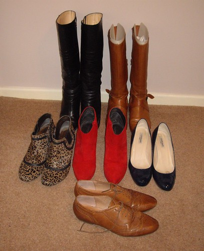 30x30 Boots and Shoes