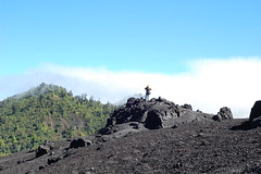 Zach Coverdale explores the lava-encrusted mountain
