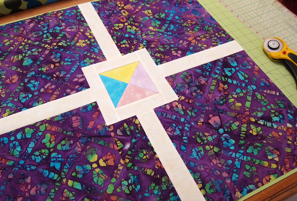 tie dye block
