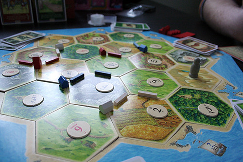 34/365 :: a game of Catan I did not win