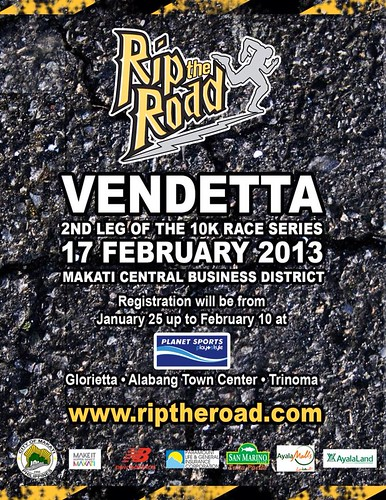 the running enthusiast rip the road vendetta